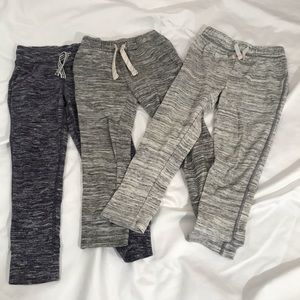 Set of 3 Cat & Jack Kid's Soft Joggers - Size 4T